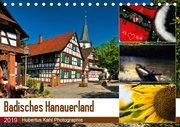Badisches Hanauerland (Tischkalender 2019 DIN A5 quer)
