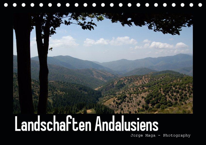 Landschaften Andalusiens (Tischkalender 2019 DI...