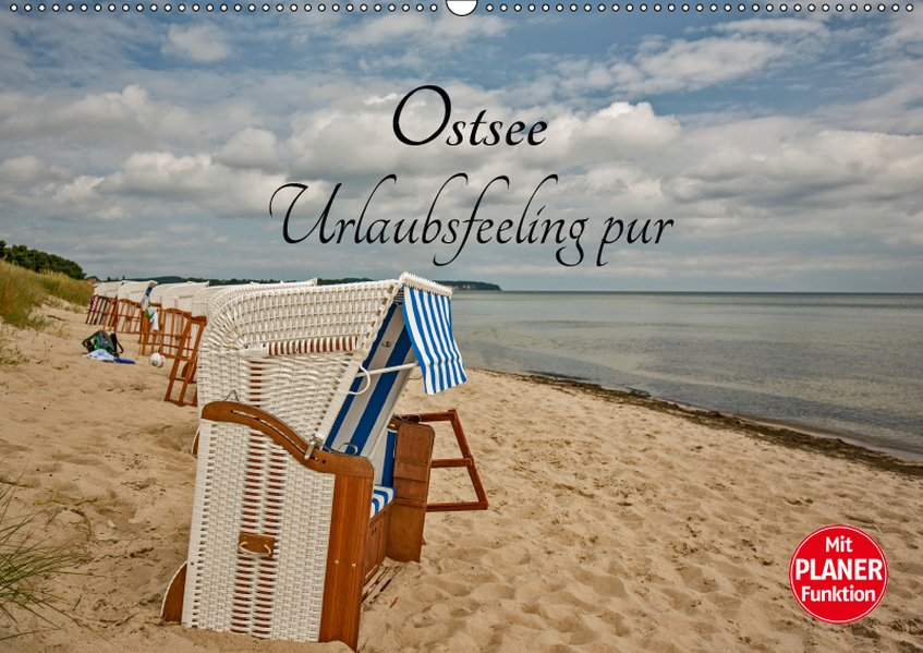 Ostsee Urlaubsfeeling pur (Wandkalender 2019 DI...