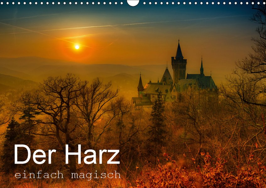 Der Harz einfach magisch (Wandkalender 2019 DIN...