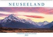 Neuseeland: Traumlandschaft zwischen Meer und Bergen (Wandkalender 2019 DIN A2 quer)