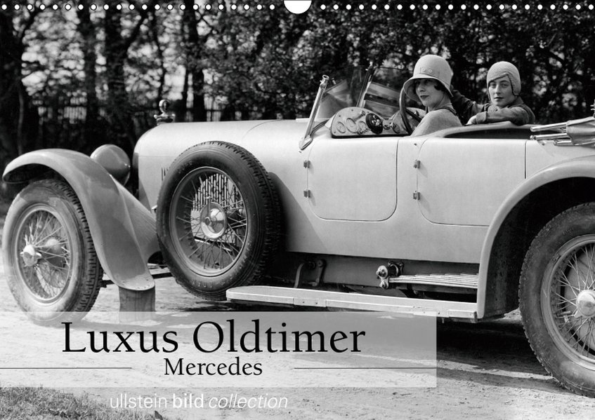 Luxus Oldtimer - Mercedes (Wandkalender 2019 DI...