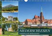 NIEDERSCHLESIEN Sommerliche Impressionen (Wandkalender 2019 DIN A4 quer)
