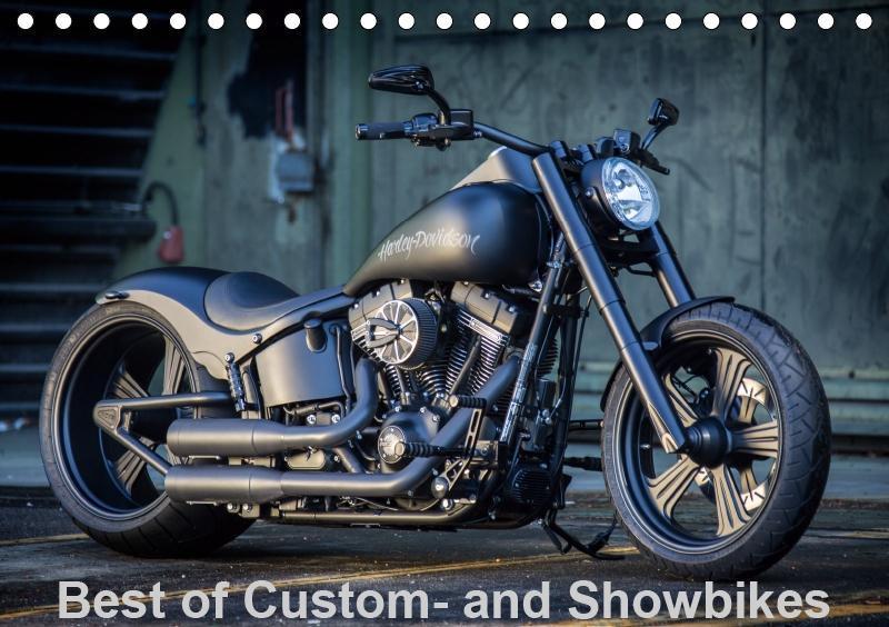 Best of Custom- and Showbikes Kalender (Tischka...
