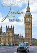 Ein Besuch in London / Terminplaner (Wandkalender 2019 DIN A4 hoch)