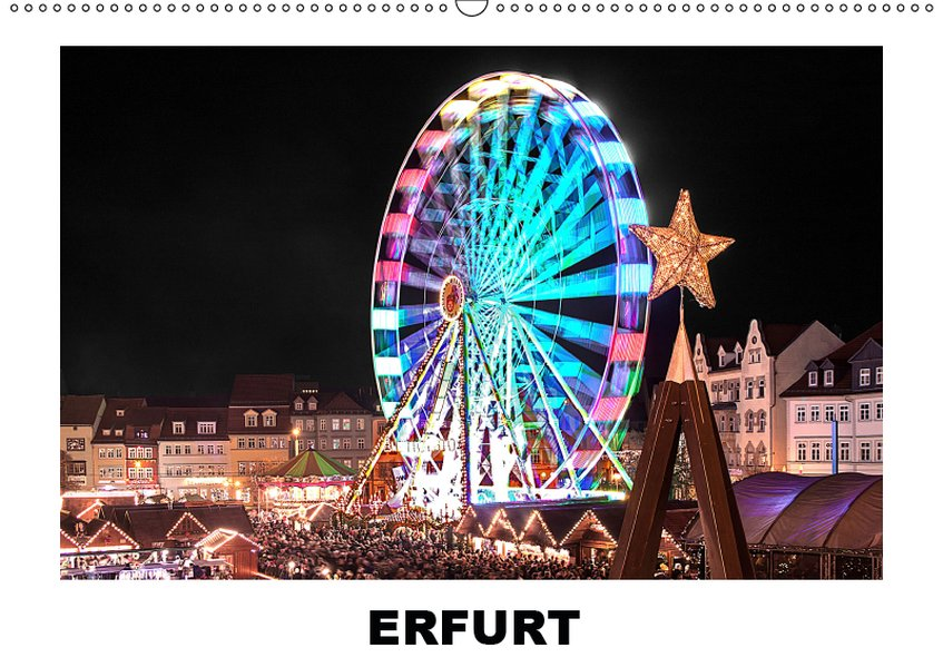 Erfurt (Wandkalender 2019 DIN A2 quer)