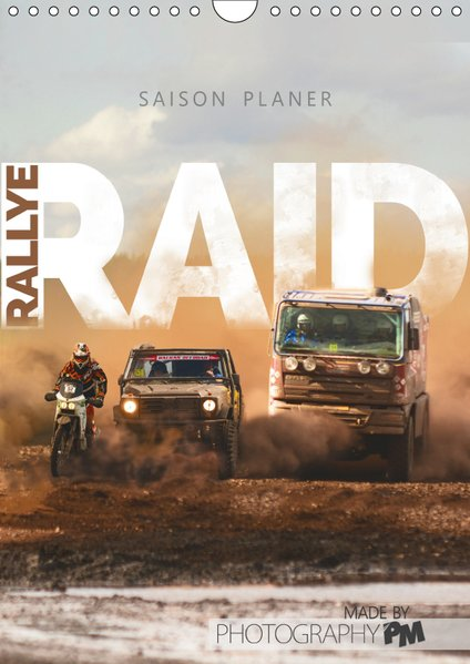 RALLYE RAID - Saison Planer (Wandkalender 2019 ...