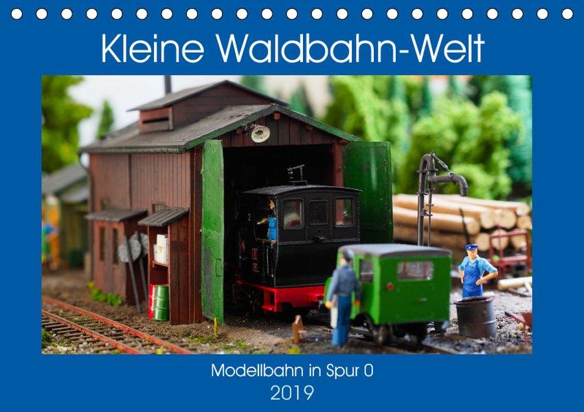Kleine Waldbahn-Welt - Modellbahn in Spur 0 (Ti...