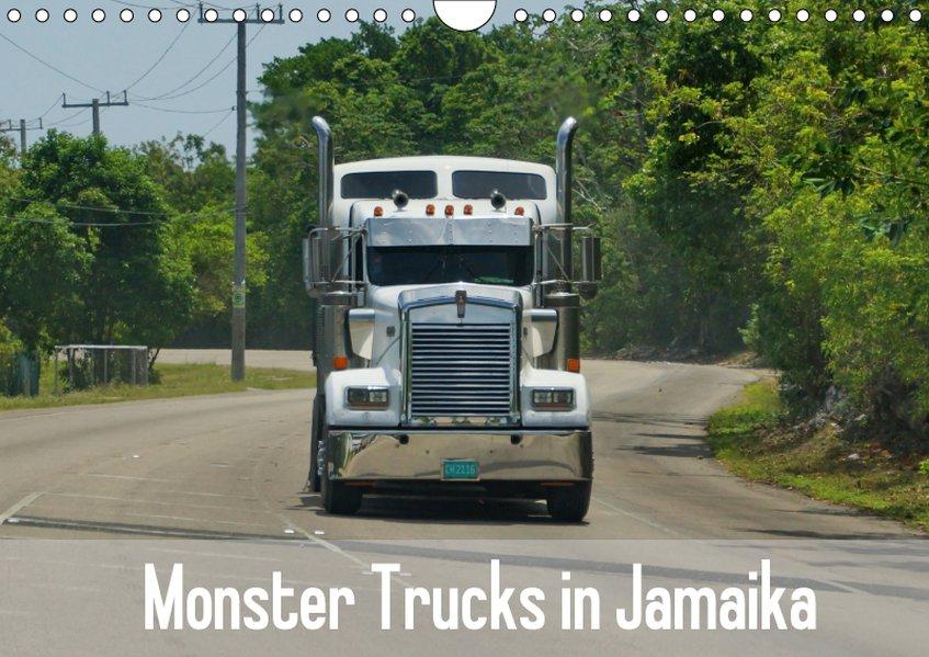 Monster Trucks In Jamaika Wandkalender 2019 Din A4 Quer Kalender