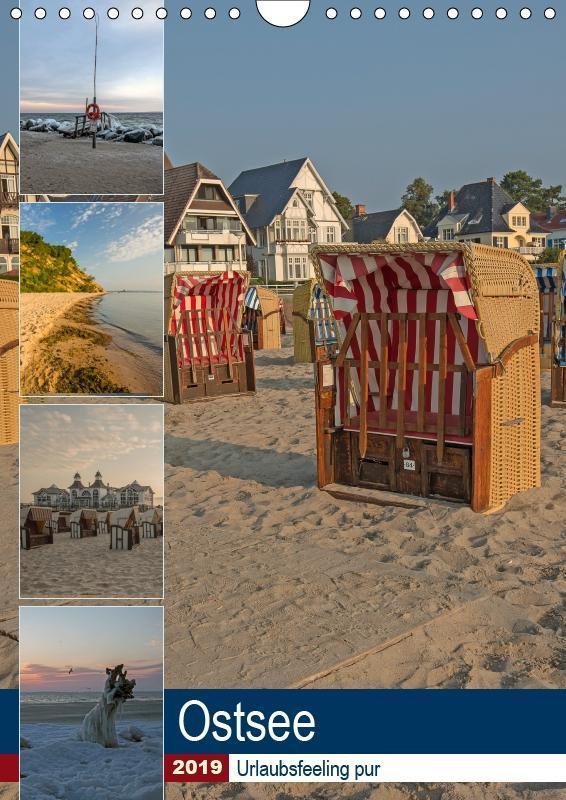 Ostsee. Urlaubsfeeling pur (Wandkalender 2019 D...