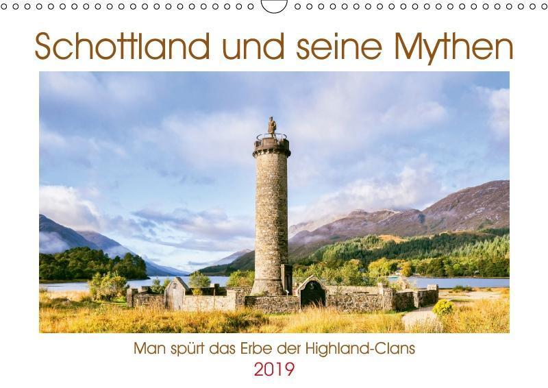 Schottland und seine Mythen (Wandkalender 2019 DIN A3 quer) als Kalender