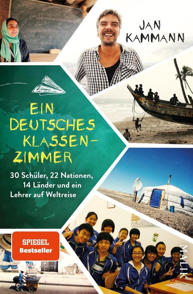 Ein deutsches Klassenzimmer als Buch