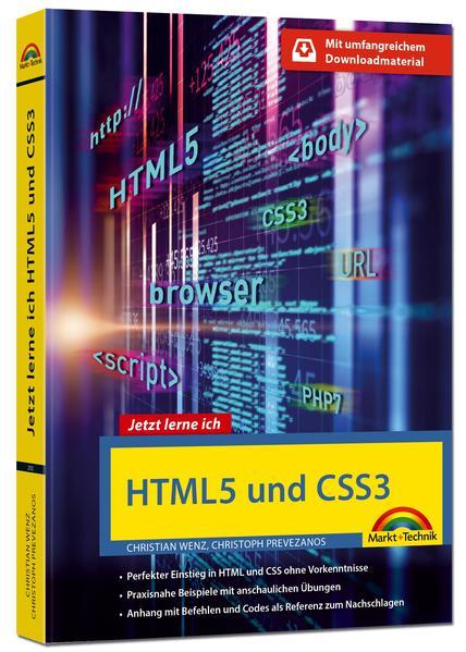 HTML5 und CSS3 - Start ohne Vorwissen - mit umf...