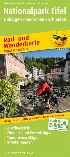 Nationalpark Eifel 1 : 50 000 als Buch von