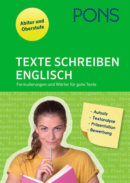 PONS Texte schreiben Englisch als Buch von