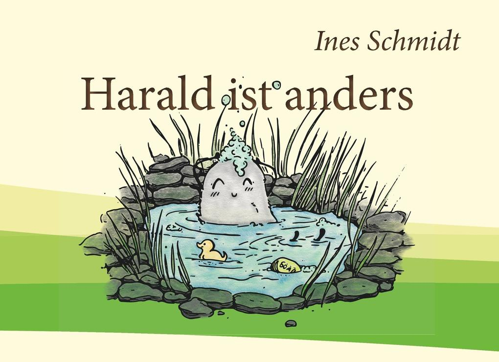 Harald ist anders als Buch