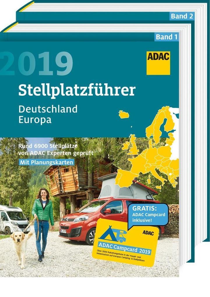 adac stellplatzf hrer deutschland europa 2019 buch. Black Bedroom Furniture Sets. Home Design Ideas