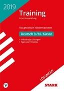 Lösungen zu Training Abschlussprüfung Hauptschule Niedersachsen 2019 - Deutsch 9./10. Klasse