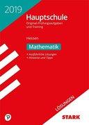 Lösungen zu Original-Prüfungen und Training Hauptschule Hessen 2019 - Mathematik