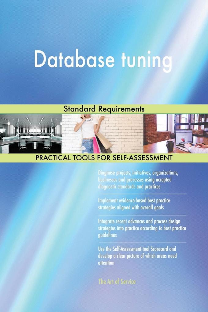 Database tuning Standard Requirements als eBook...
