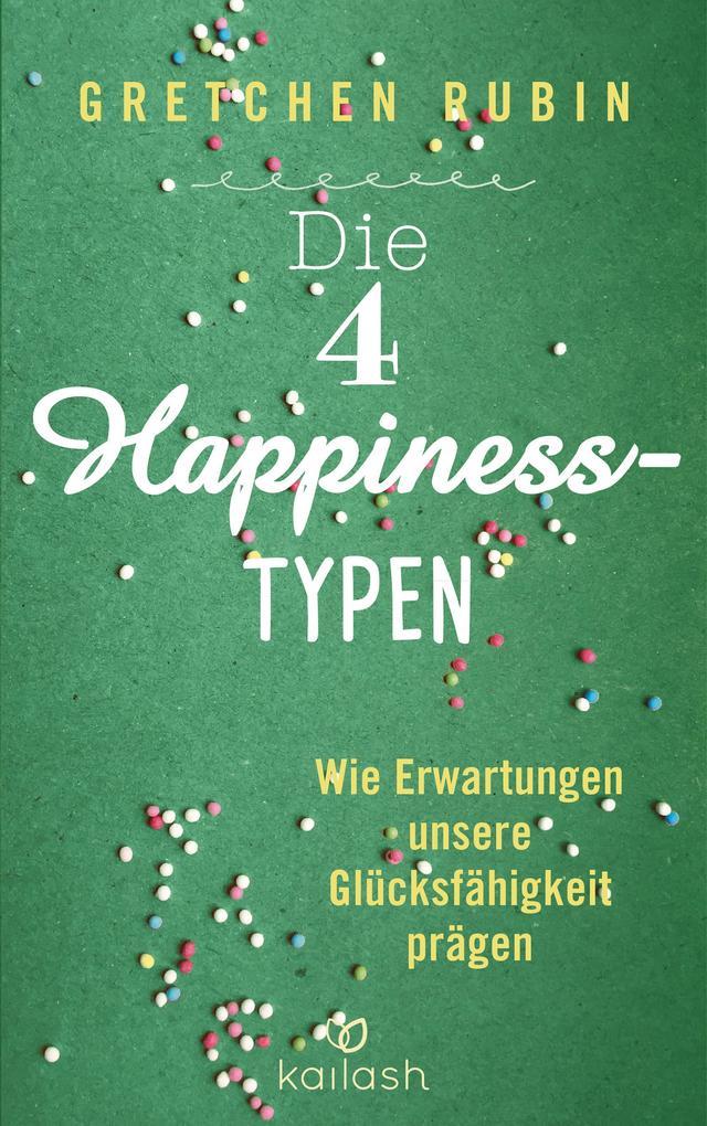 Die 4 Happiness-Typen als Buch