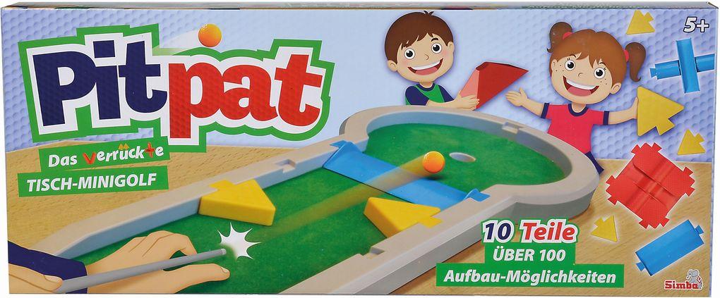 Games & More Pitpat Tisch-Minigolf