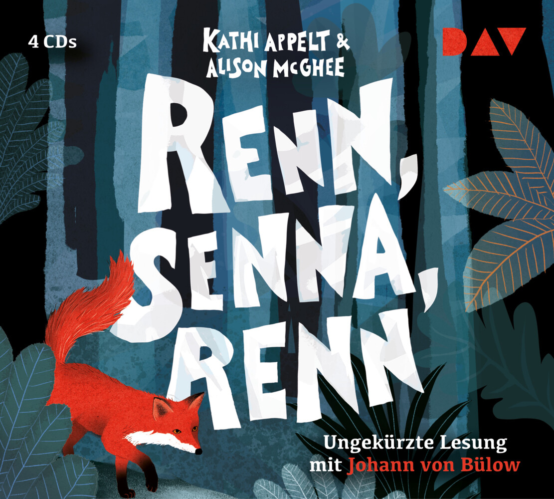 Renn, Senna, renn als Hörbuch CD von Kathi Appe...