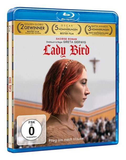 Lady Bird als DVD
