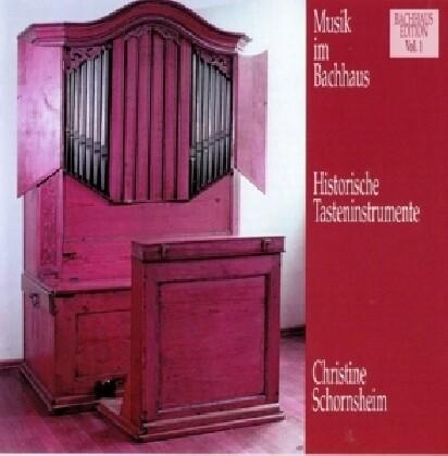 Musik im Bachhaus: Historische Tasteninstrumente