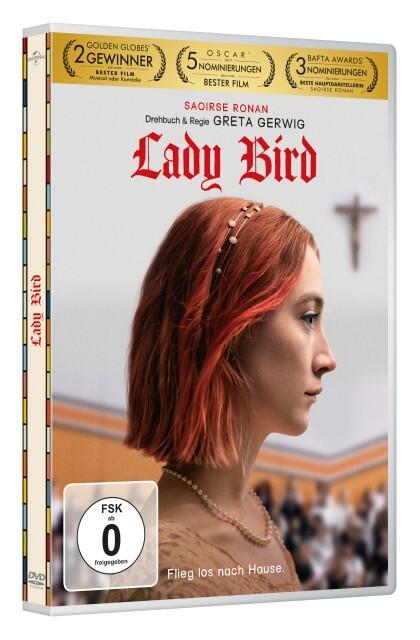 Lady Bird als DVD