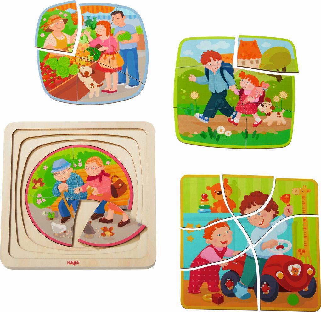 Holzpuzzle Mein Leben (Kinderpuzzle) als sonstige Artikel