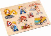 Greifpuzzle Baustellen-Welt 8 Teile