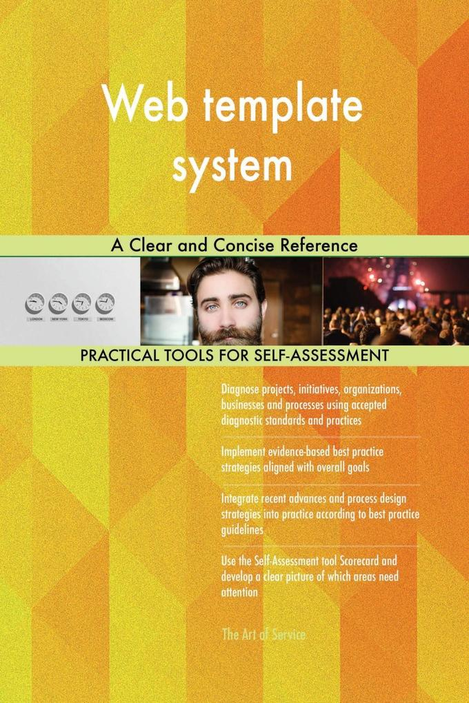 Web template system A Clear and Concise Referen...