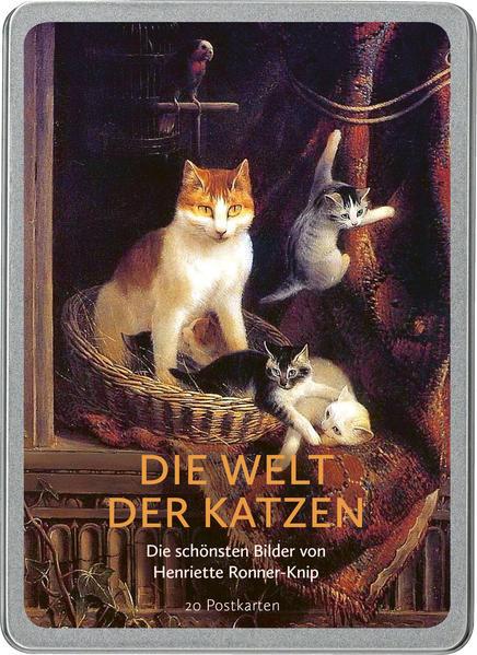 Die Welt der Katzen. 20 Postkarten
