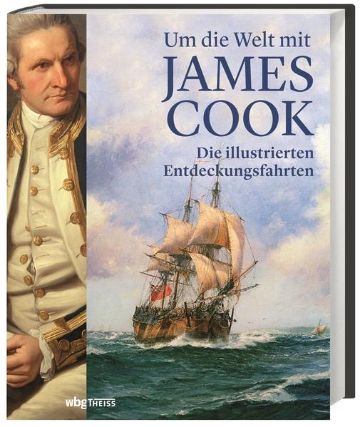 Um die Welt mit James Cook als Buch