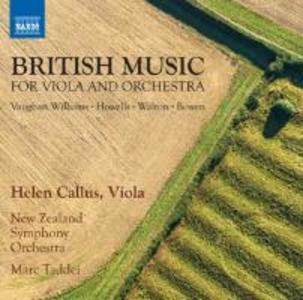 Britische Musik für Viola und Orchester
