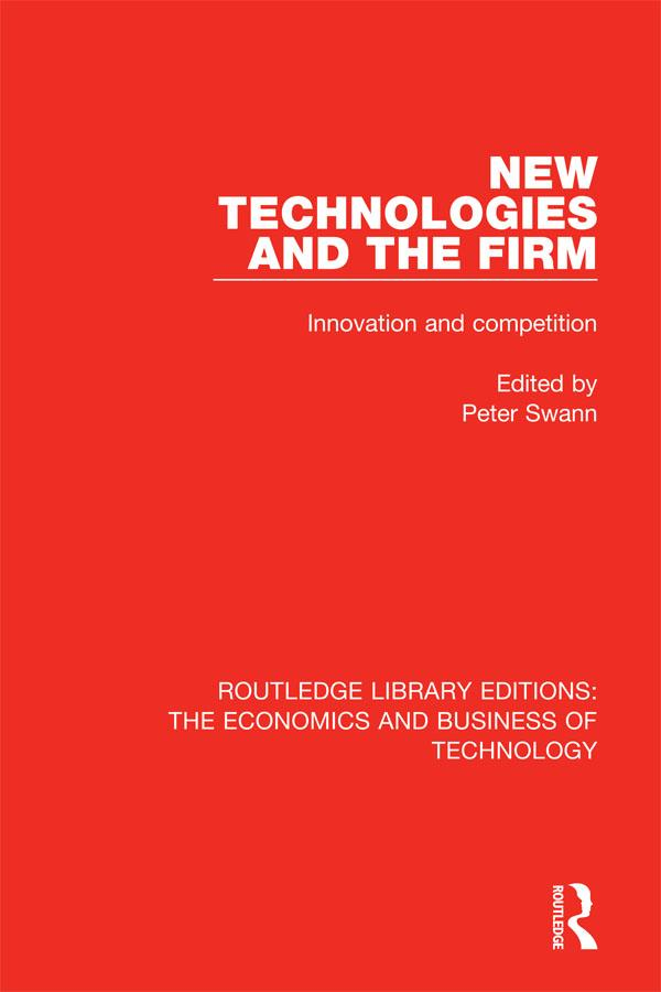 New Technologies and the Firm als eBook Downloa...