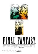 Final Fantasy - Official Memorial Ultimania Book 1: VII VIII IX
