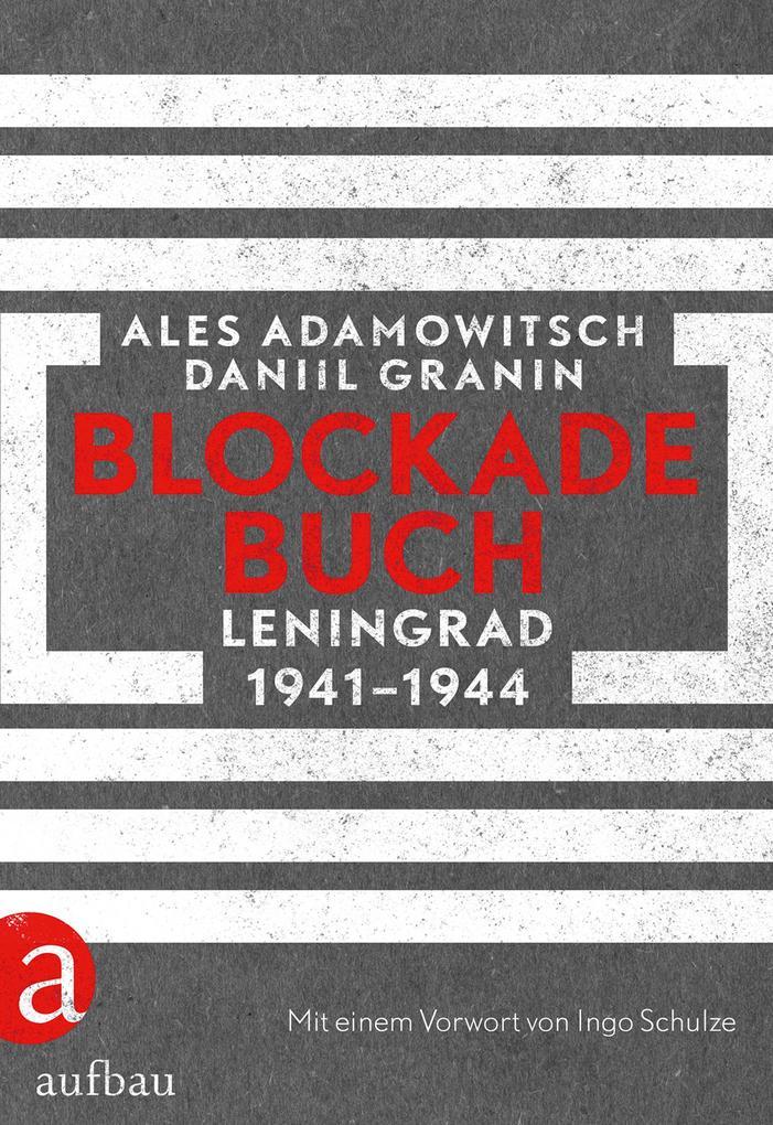 Blockadebuch als Buch