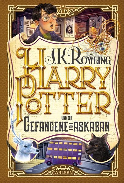Harry Potter 3 und der Gefangene von Askaban als Buch
