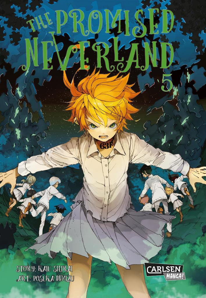 The Promised Neverland 5 als Buch