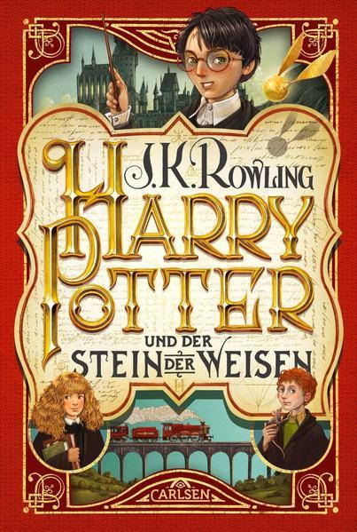 Harry Potter 1 und der Stein der Weisen als Buch