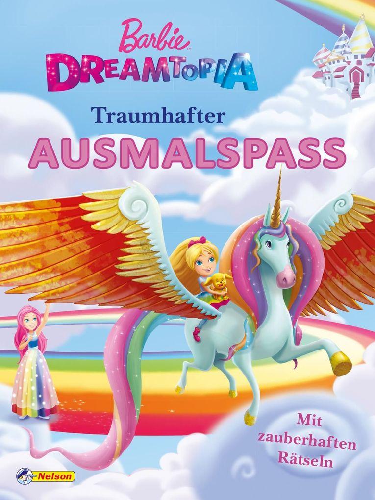 Barbie Dreamtopia Traumhafter Ausmalspaß Buch