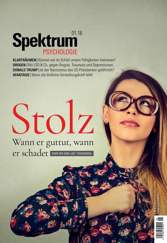 Spektrum Psychologie - Stolz als eBook Download...