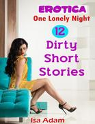 Erotica: One Lonely Night: 12 Dirty Short Stories