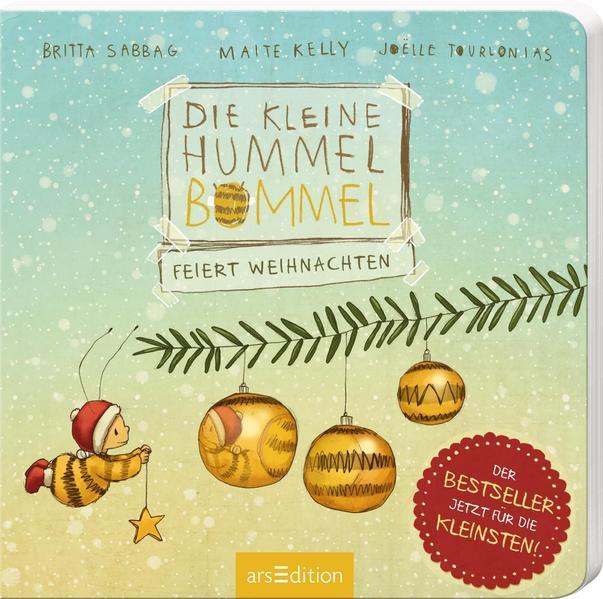 Die kleine Hummel Bommel feiert Weihnachten als Buch