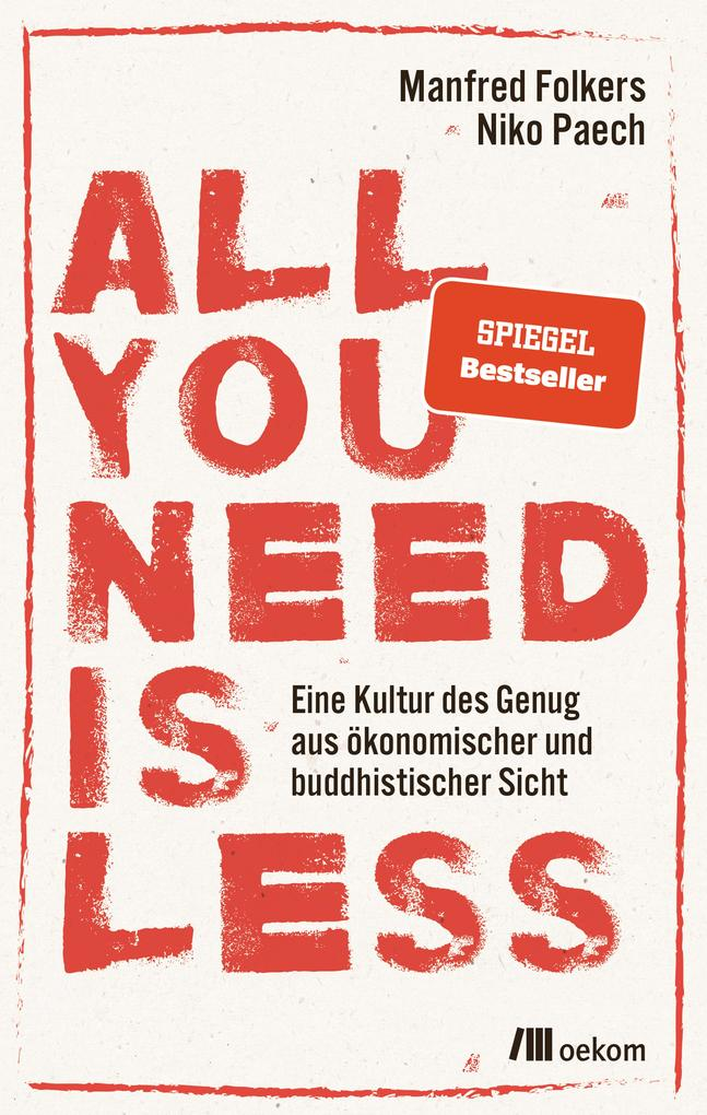 All you need is less als eBook
