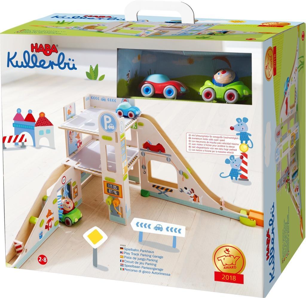 HABA Kullerbü Kugelbahnen Spielbahn Parkhaus