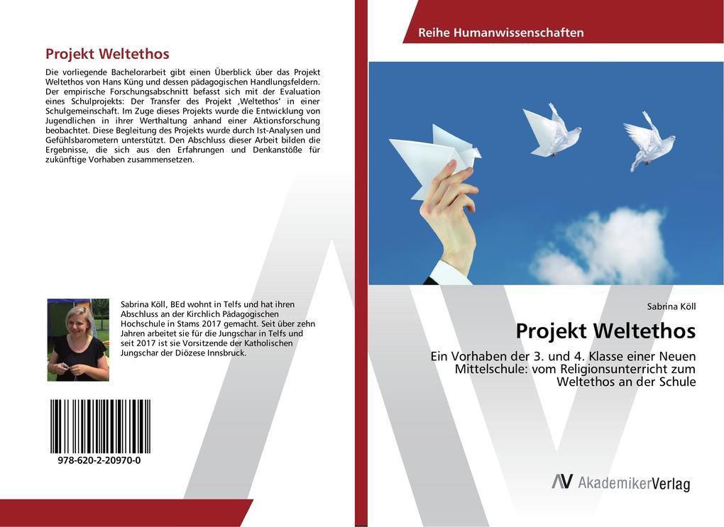 Projekt Weltethos als Buch von Sabrina Köll