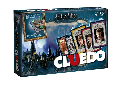 Winning Moves - Cluedo - Harry Potter Collector's Edition, neues Design in Weiß als Spielware